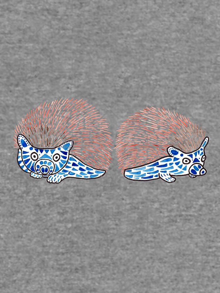 Watercolor Art   Hedgehogs! by coloringiship