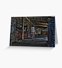 Derelict Brickworks Greeting Card