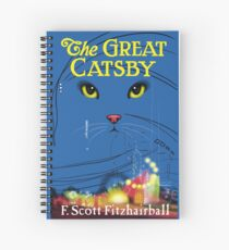 The Great Catsby Spiral Notebook