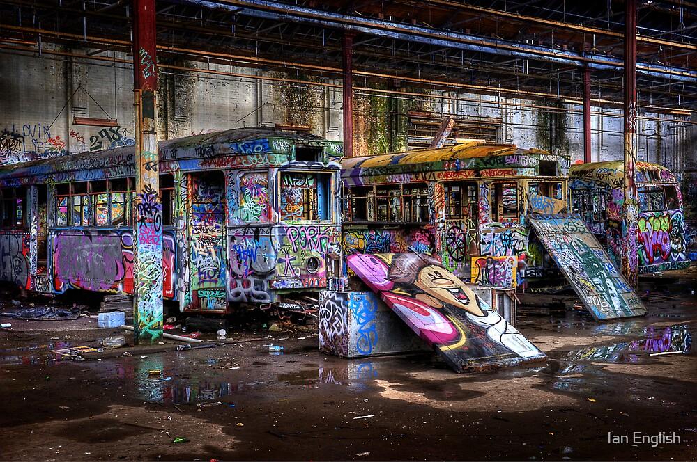 Sydney Trams 2 by Ian English