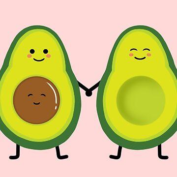 Avocado couple by Smjjms