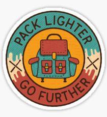 Pegatina Etiqueta de camping vintage, parche de viaje, camiseta de camping