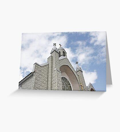 St. Joseph Roman Catholc Church, Vermont New England Greeting Card