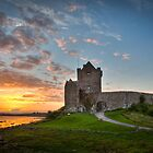 Dunguaire Castle at Sunset by Hauke Steinberg