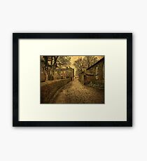 The Parsonage and School House  Framed Print