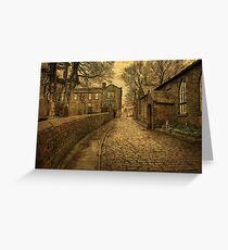 The Parsonage and School House  Greeting Card