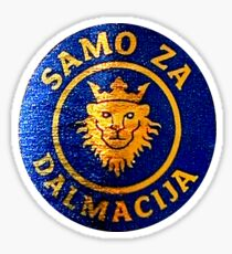 Only For Dalmatia Dalmacija Sticker