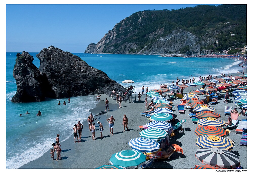 Postcard from Monterosso by Paul Weston