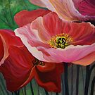 Poppies of Oz by sharontaylorart