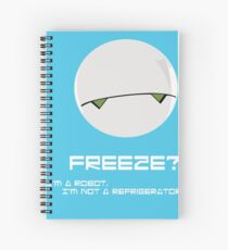 Marvin the Paranoid Android Spiral Notebook
