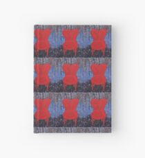 The Red Chair original painting Hardcover Journal