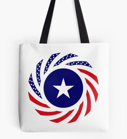 Liberian American Multinational Patriot Flag Series Tote Bag