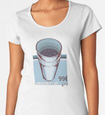 LEAN CUP RETRO ADVERTISEMENT Women's Premium T-Shirt