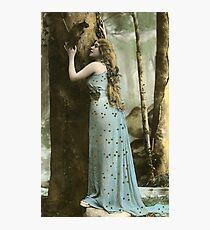 Vintage *Forest Maiden* Photographic Print