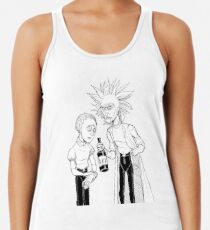 Rick and Morty (Stylised) Racerback Tank Top