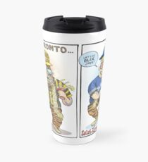 Hamilton Ticat fan of Toronto Blue Jays Travel Mug