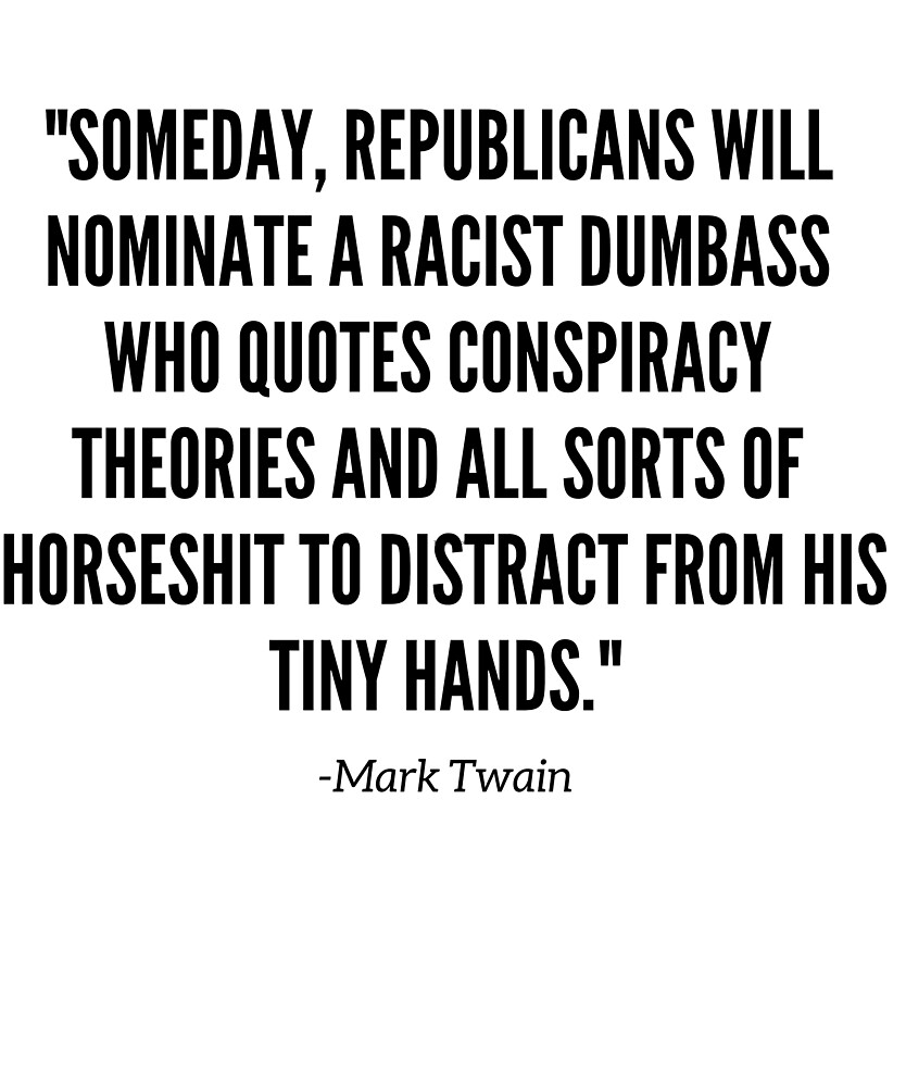 Mark Twain political quote\