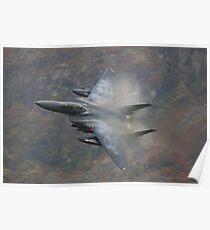 F15 above Tal y Llyn Poster