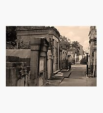 New Orleans Cemetery Photographic Print
