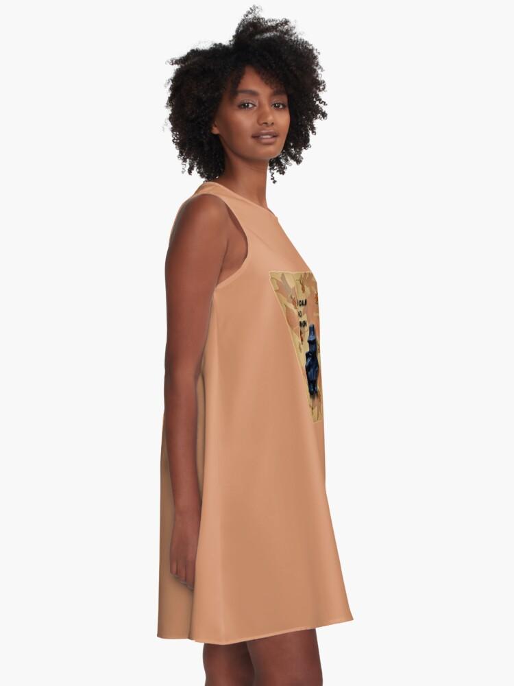 Alternate view of Keep Calm And Pilgrim On A-Line Dress