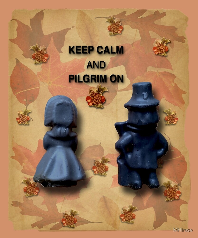 Keep Calm And Pilgrim On by MHirose