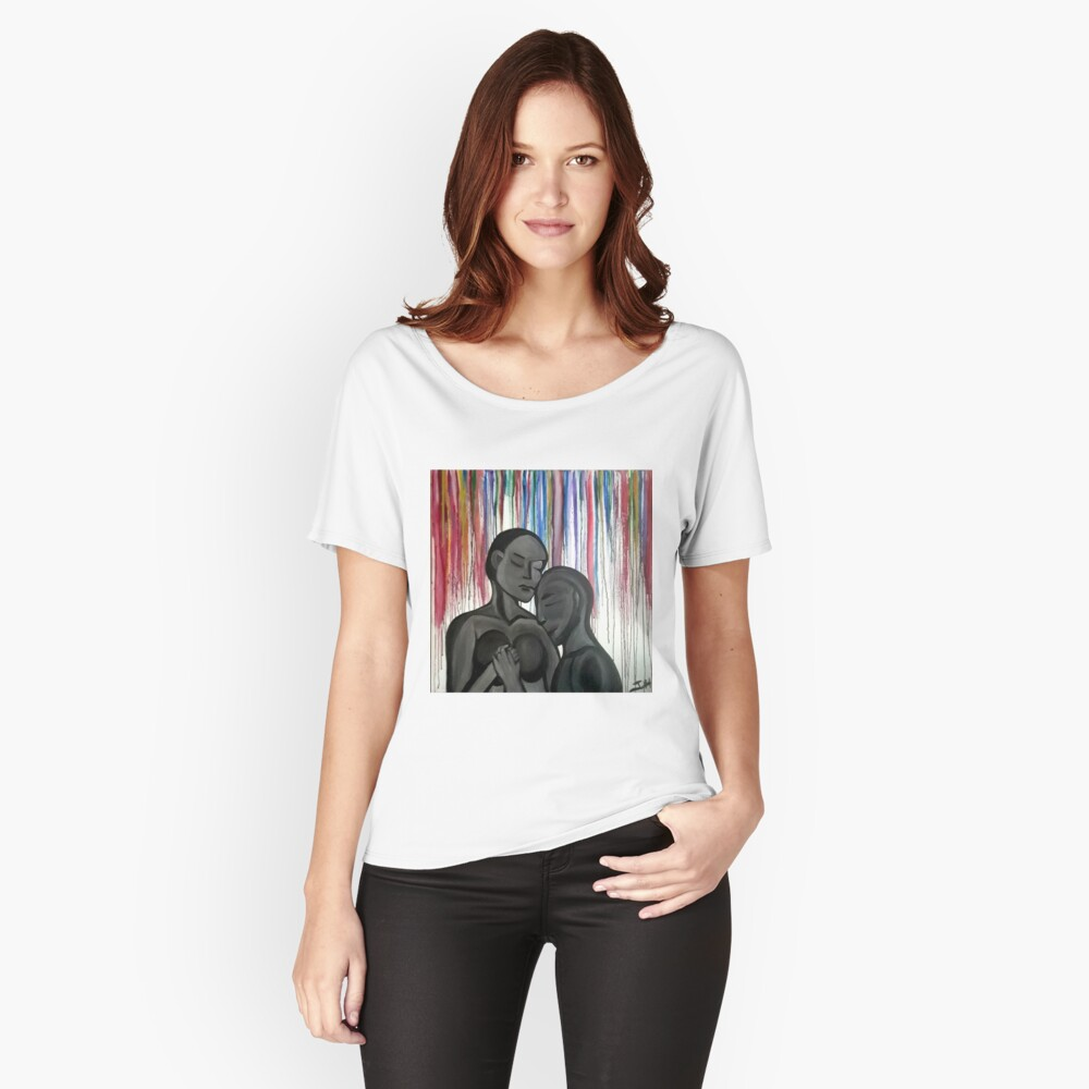 Strangers Women's Relaxed Fit T-Shirt Front