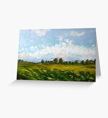 Summer Day Greeting Card