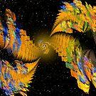 Fractals in Space 2 by DeanzWorld