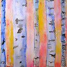 Birch Trees by Marita McVeigh
