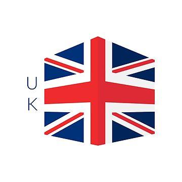 UK flag by archiba