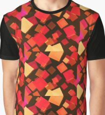 Cubism-inspired Digital Art  Graphic T-Shirt