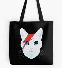 Cat Bowie Tote Bag