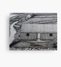 The Comfort of Thatched Roofs Canvas Print