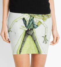 Toxic Rick and Morty Mini Skirt