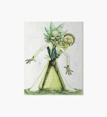 Toxic Rick and Morty Art Board
