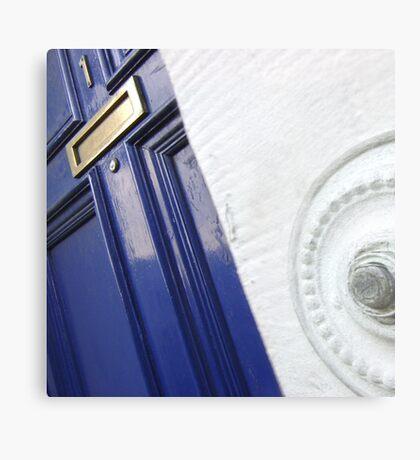 The Door (Press to Enter) Metal Print