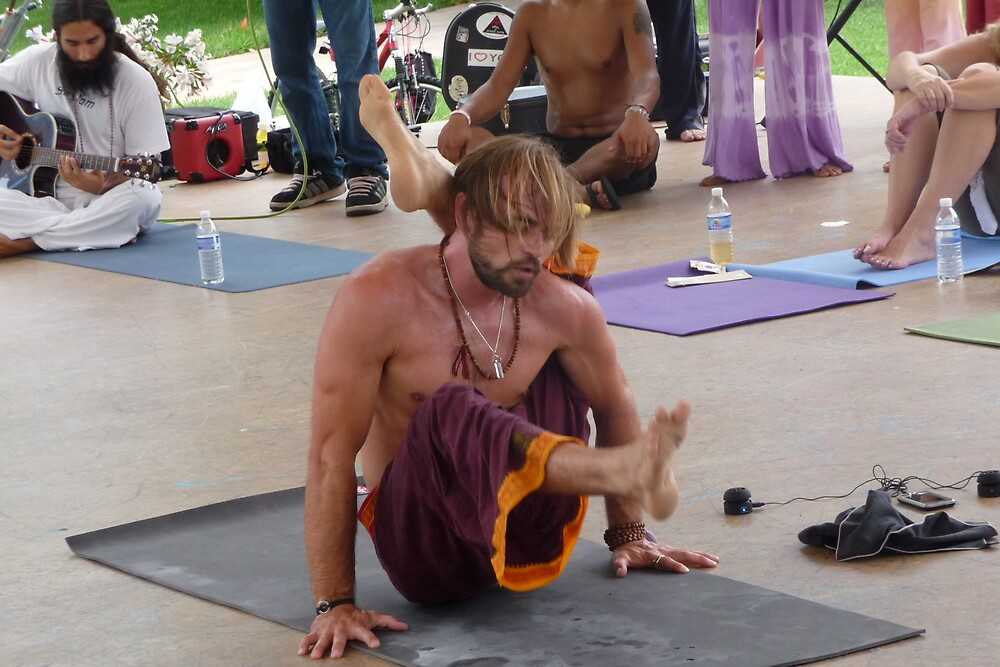 Advanced Yoga Pose Series by Danceintherain