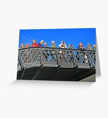 Trainspotters Greeting Card