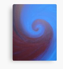 Deep Sea Swirl Canvas Print