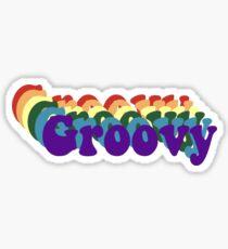 Pegatina Groovy!