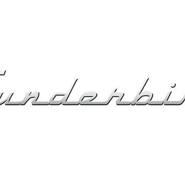 Thunderbird Emblem Body Decal by azoid