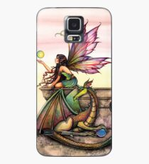 Dragons Orbs Fairy and Dragon Art by Molly Harrison Case/Skin for Samsung Galaxy