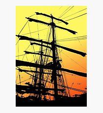 Barque Artemis Photographic Print