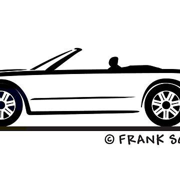 2002-2005 Ford Thunderbird Silhouette by azoid