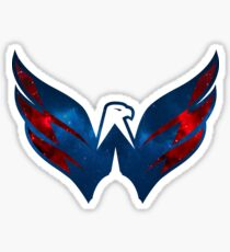 Washington Capitals Galaxy Logo Sticker