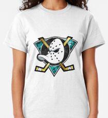 Mighty Ducks of Anaheim Galaxy Logo Classic T-Shirt