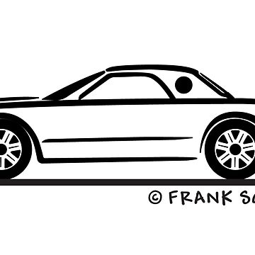 2002-2005 Ford Thunderbird Top Up Silhouette by azoid