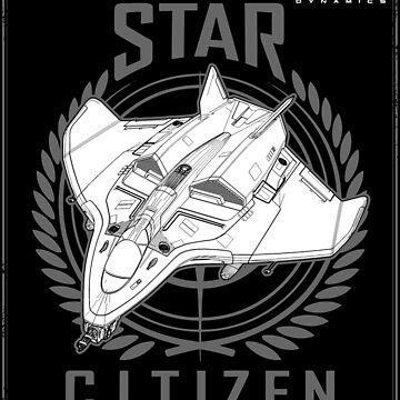 AVENGER Star Citizen by zRiSes