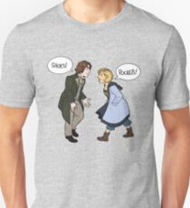 The Delight of Shoes and Pockets Unisex T-Shirt
