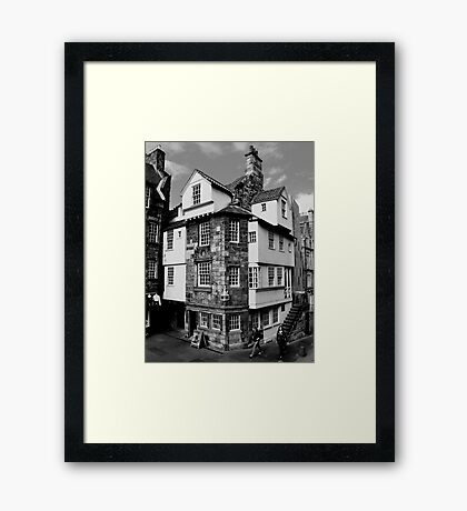 John Knox House, Edinburgh.  Framed Print